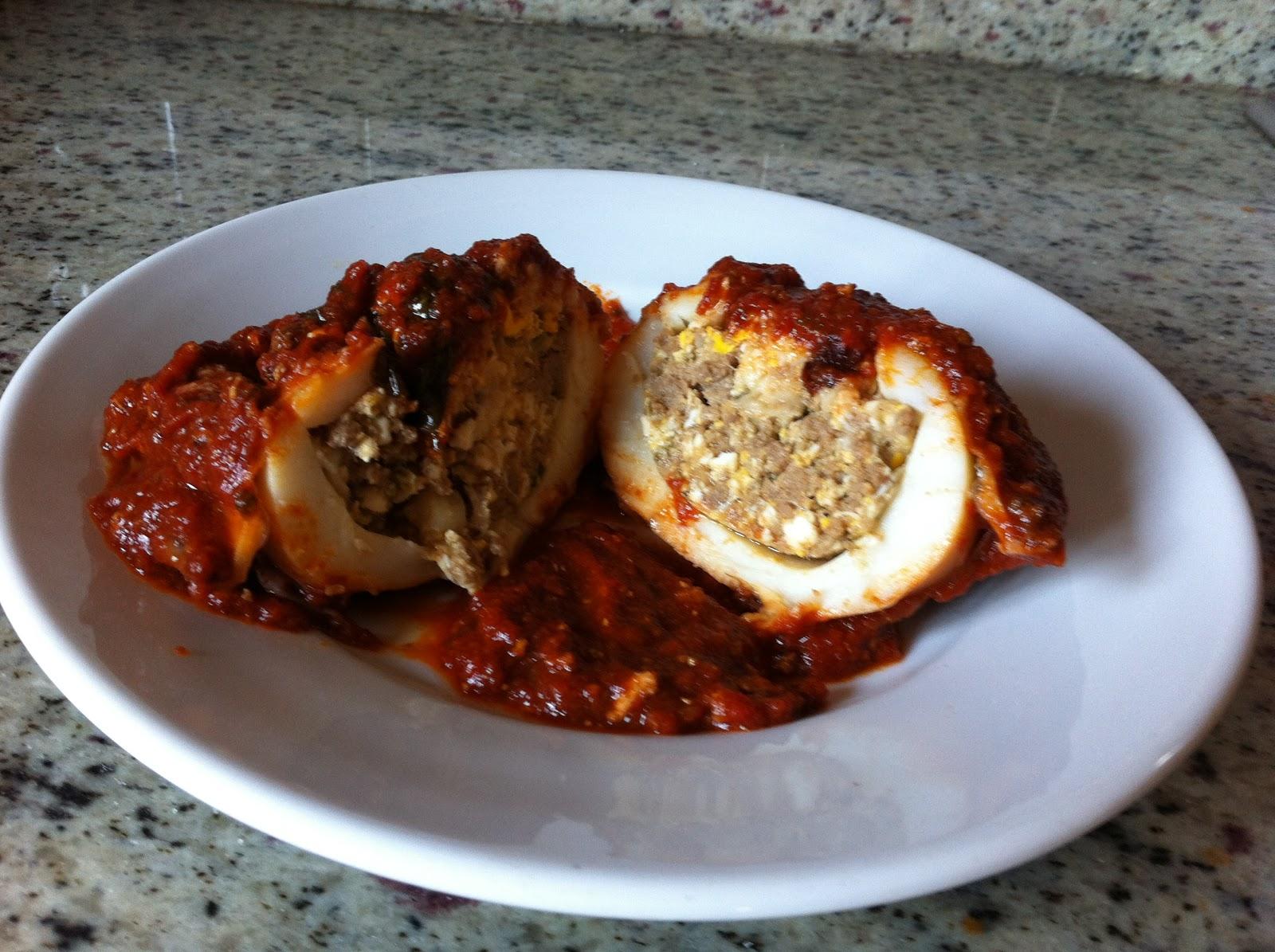 Le Mani Fatate S: Seppie Ripiene Al Sugo #A26729 1600 1195 Come Cucinare Piccole Seppie