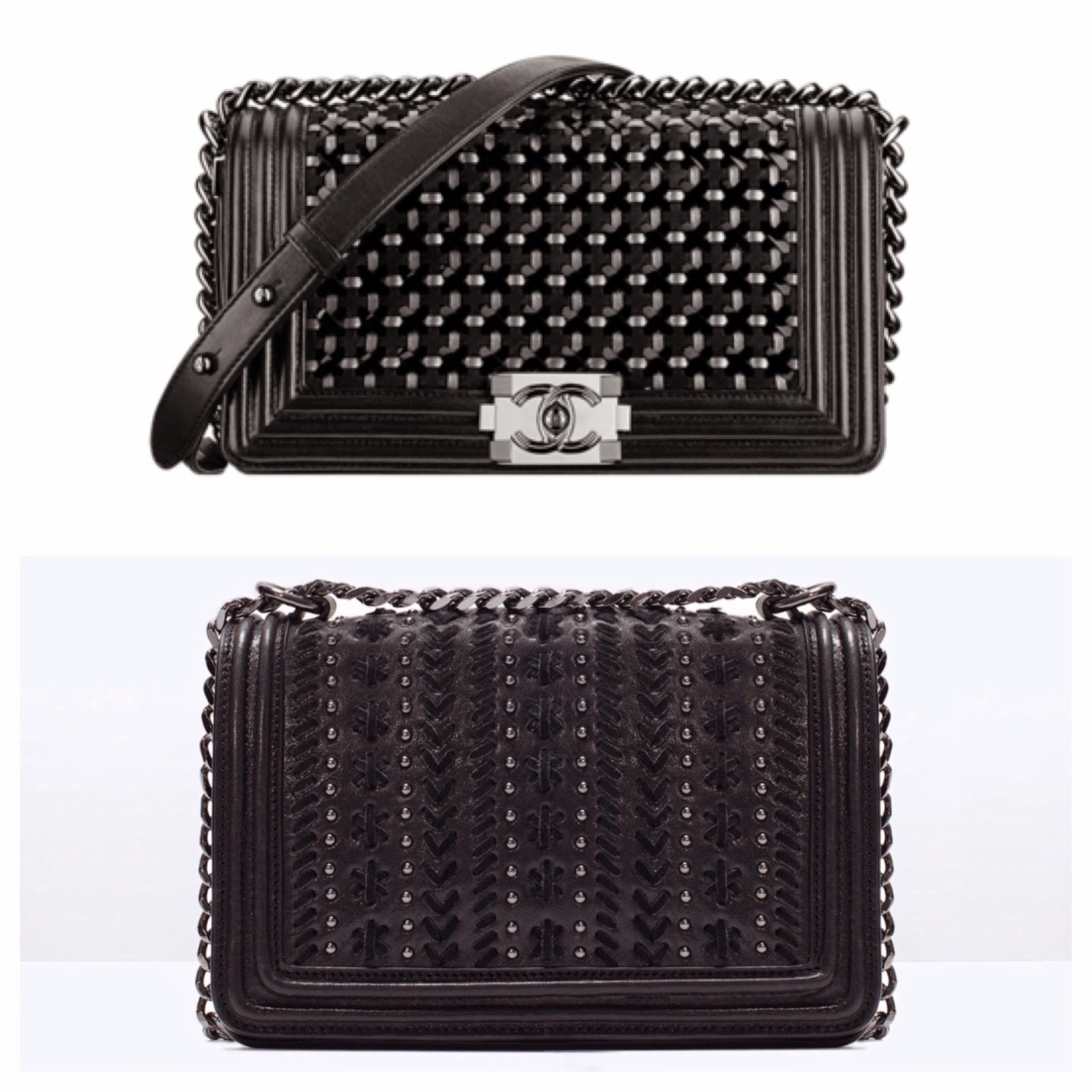 647bfeaa9ef4 Zara dupe! Steal the Style of the Boy Chanel Handbag!