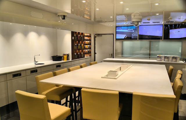 The Kitchen Table offers cooking classes by day and intimate dining at night.