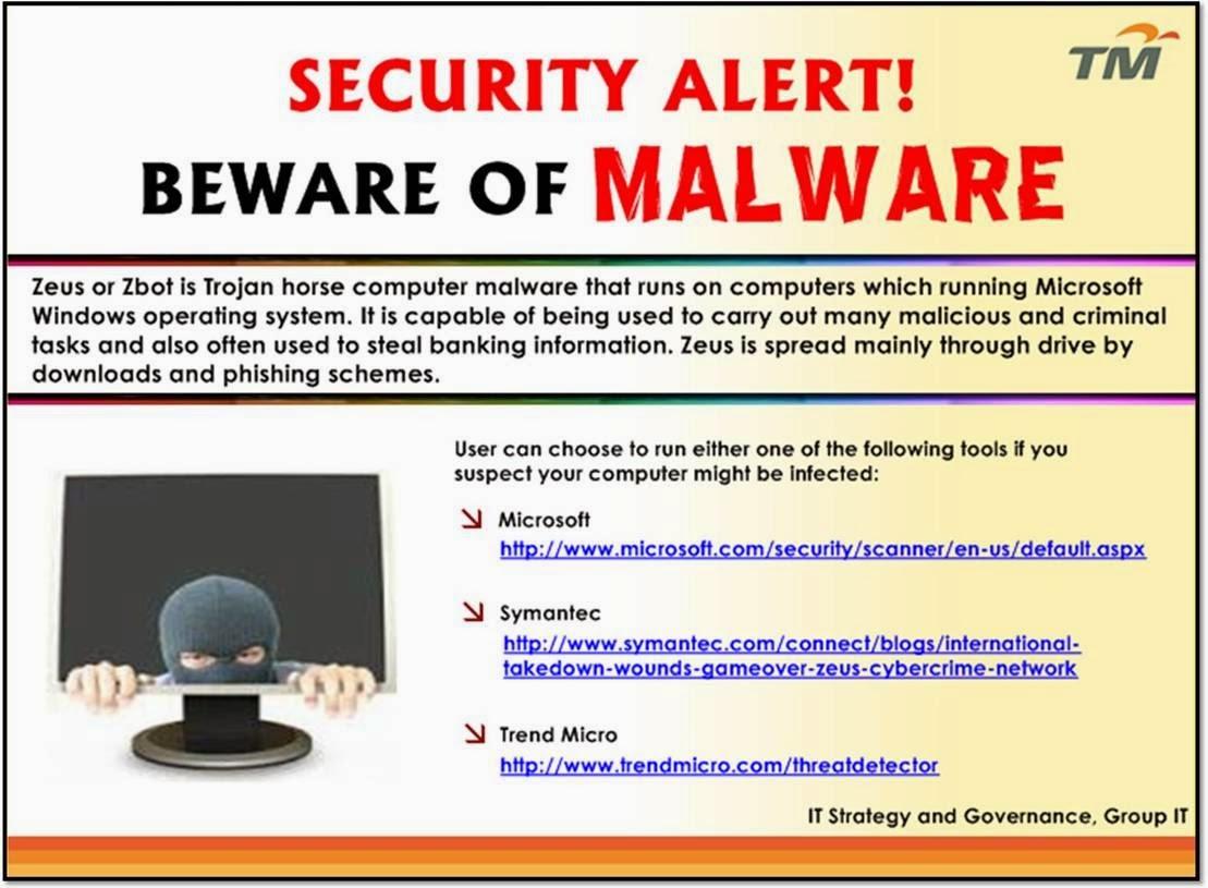 Beware of Malware 2014