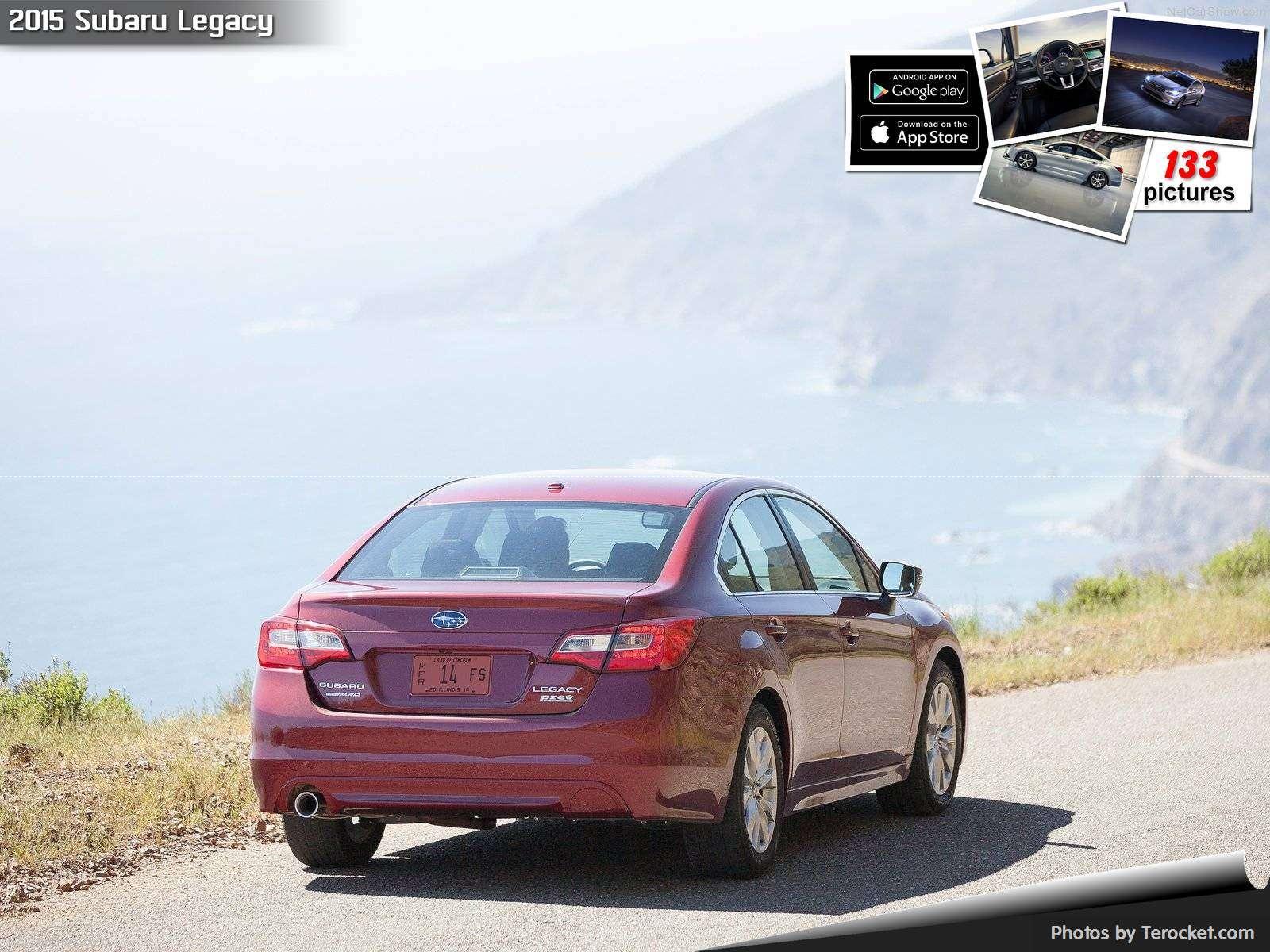 Hình ảnh xe ô tô Subaru Legacy 2015 & nội ngoại thất