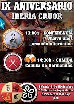 IX Aniversario Iberia Cruor