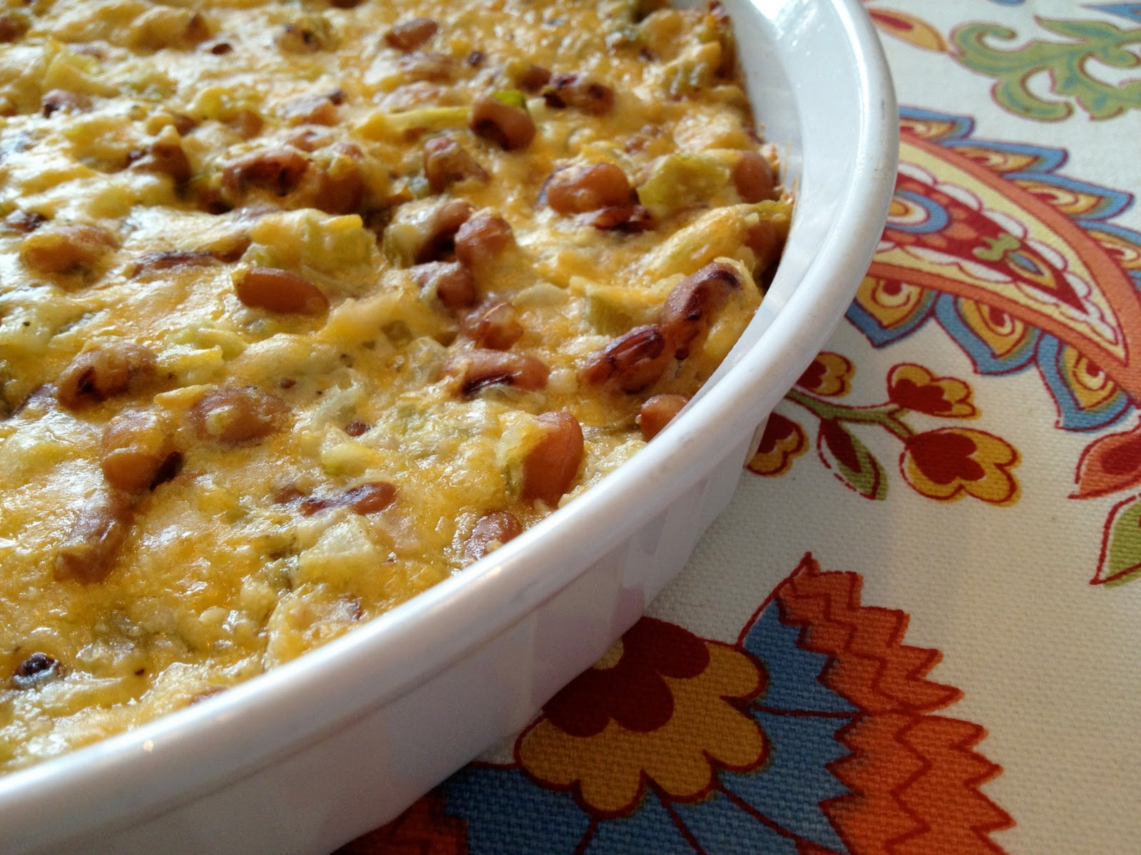 season | cook: Hot and Cheesy Black-Eyed Pea Dip