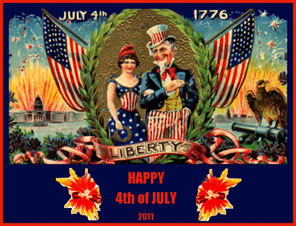 happy 4th of july vintage images