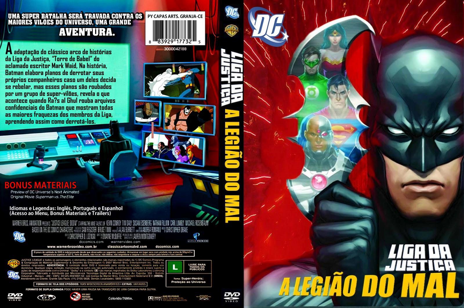 Torrent - Liga da Justiça: A Legião do Mal Blu-ray rip 720p e 1080p Dual Áudio (2012)