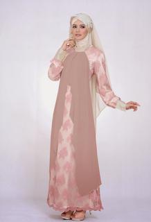 Model Gaun Ibu Hamil Syari