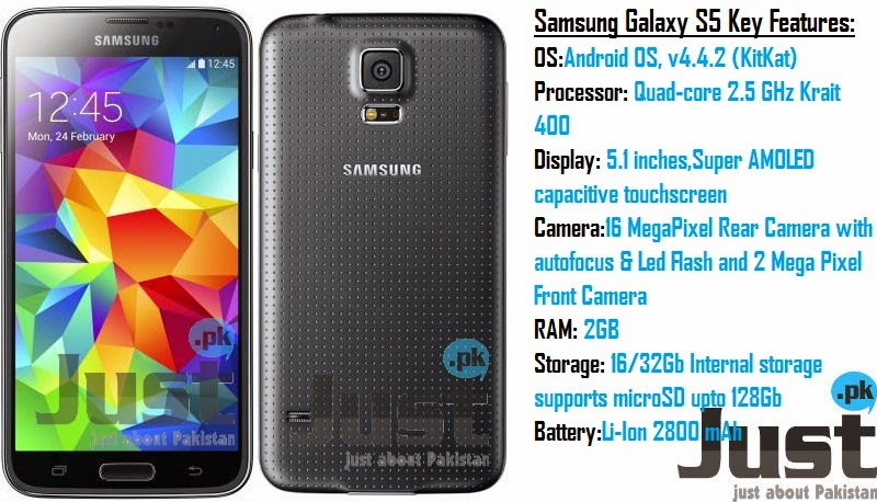 Samsung Galaxy S5 ~ COOL NEW TECH