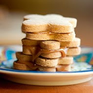 Peanut Butter Alfajores