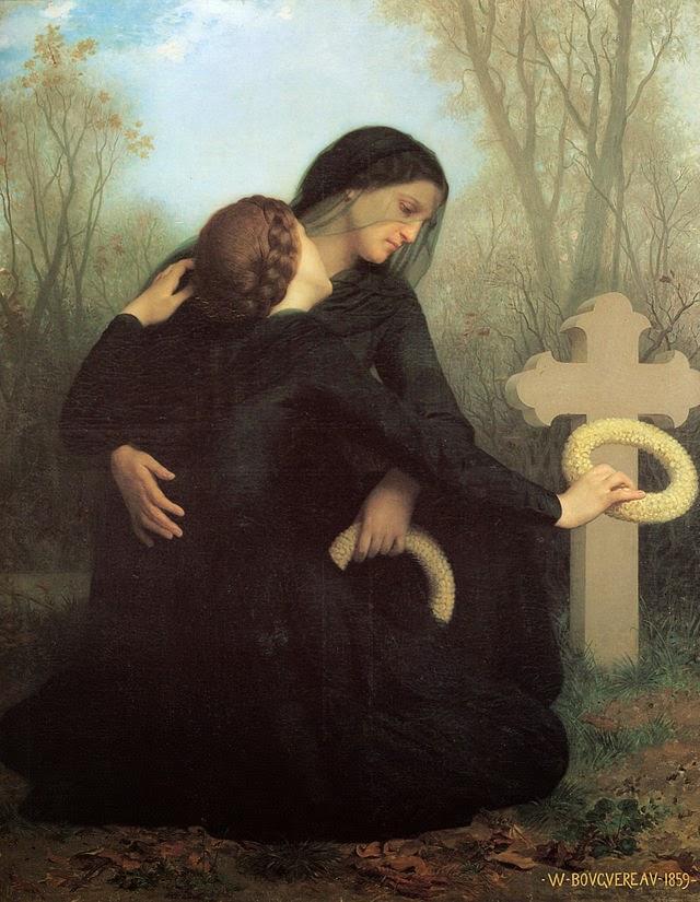 El día de la Muerte obra de William-Adolphe Bouguereau de Francia