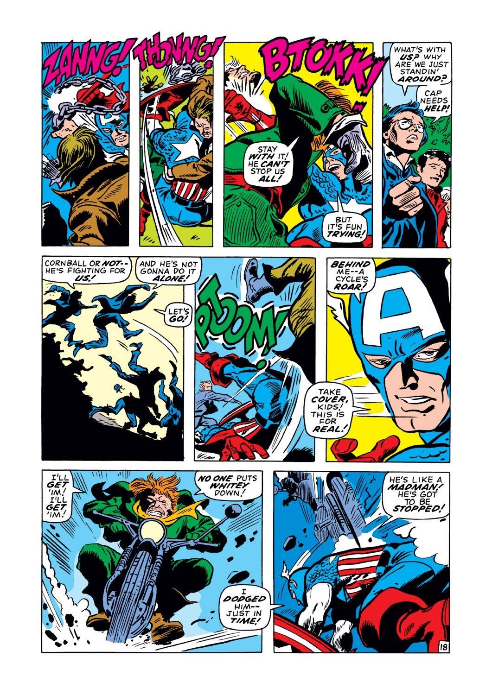 Captain America (1968) Issue #128 #42 - English 18