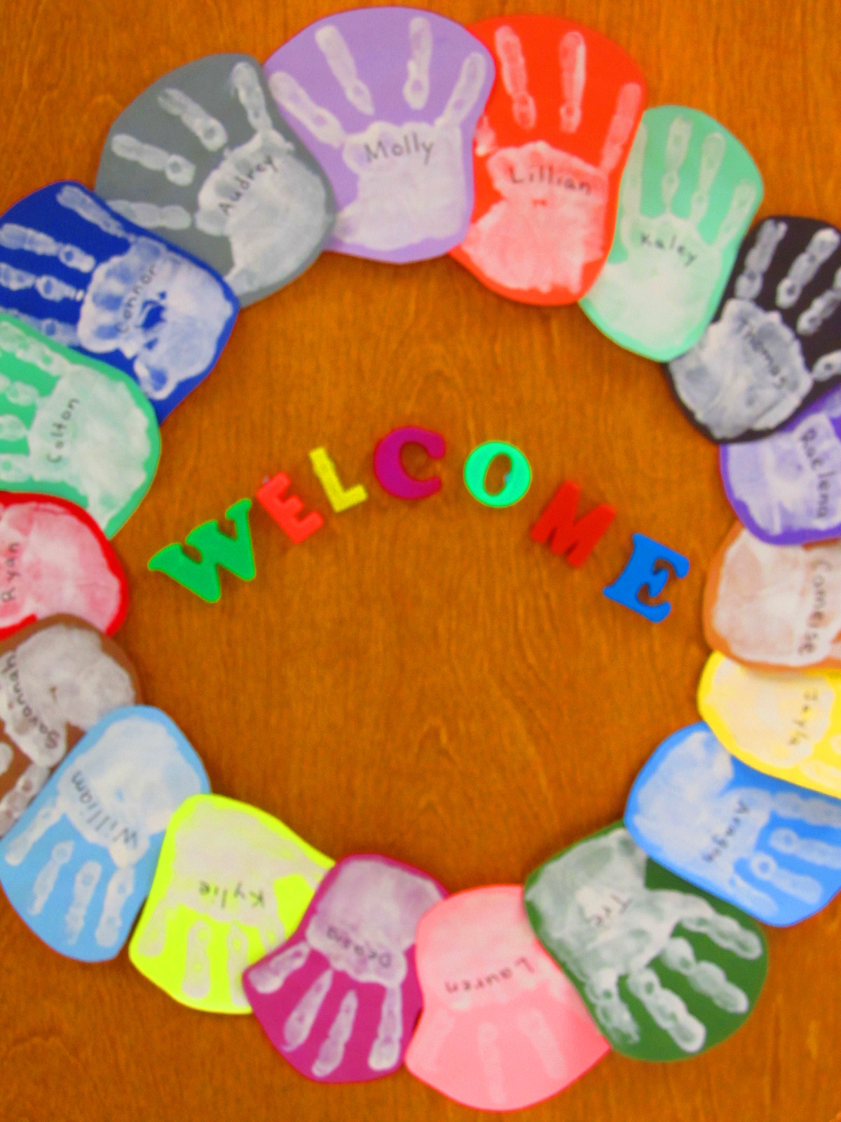 Classroom Welcome Ideas ~ Rainbowswithinreach spot
