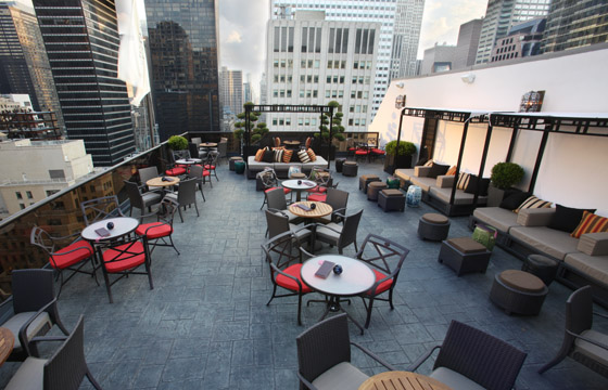 Rooftop br New York