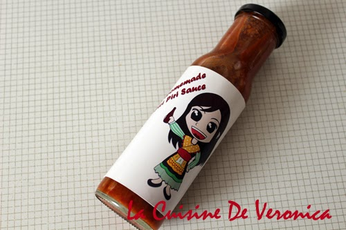 La Cuisine De Veronica Homemade Piri Piri Sauce