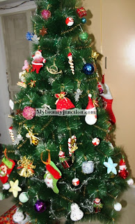 My Christmas tree ornaments and decoration ideas