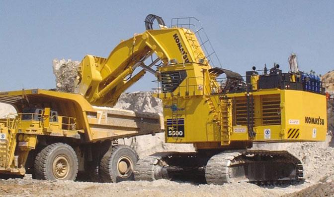 Komatsu Excavators PC5500-6