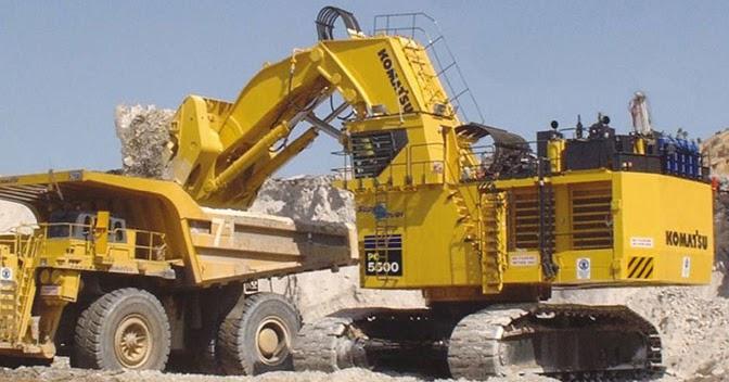 Komatsu Excavators Pc5500 6 Alat Berat