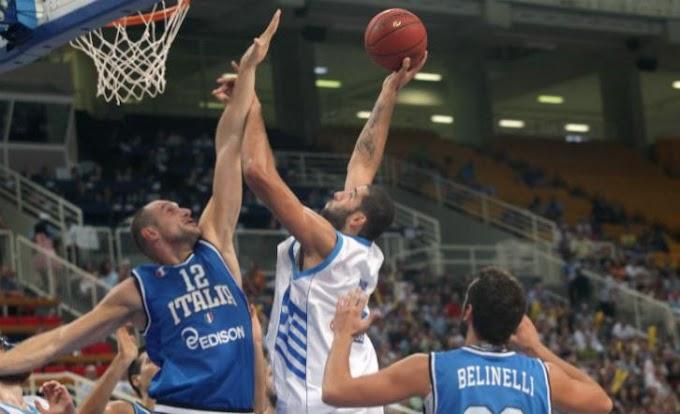 Νίκη επί της Ιταλίας και πρωτιά στο τουρνουά  «Ακρόπολις»  για την Εθνική Ανδρών