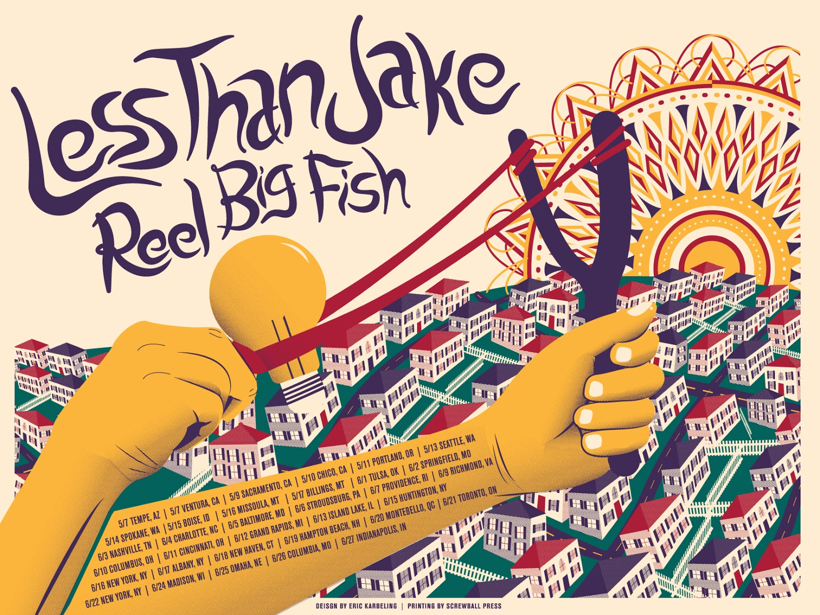 reel big fish less than jake setlist