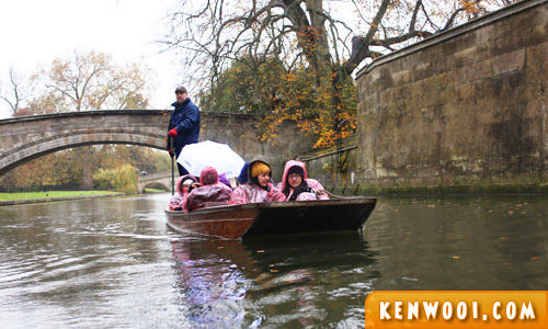 cambridge punting passengers
