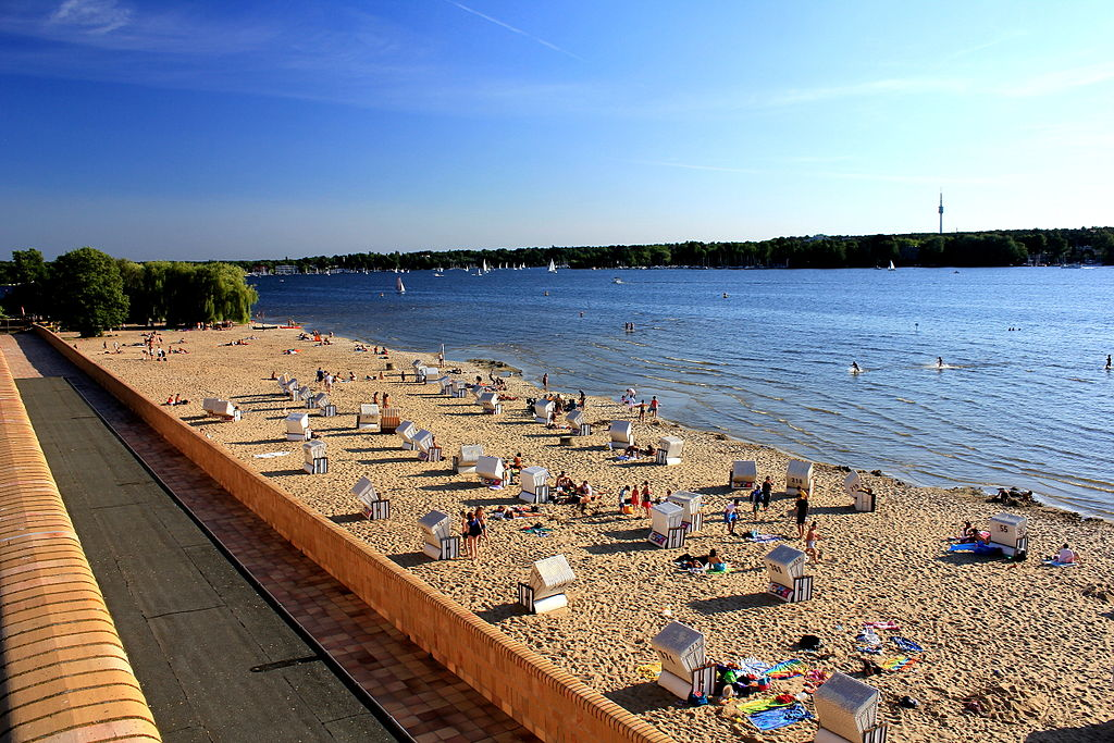 Wannsee nude beach (Berlin, Germany)