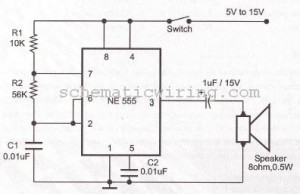 electronic circuit diagram electro schematic ring bell electronicring bell electronic circuit using ne555 diagram