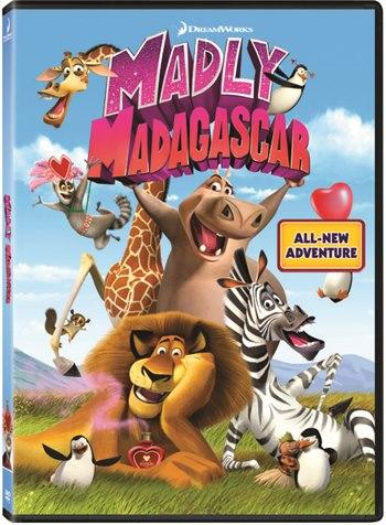 Madly Madagascar DVDRip Latino
