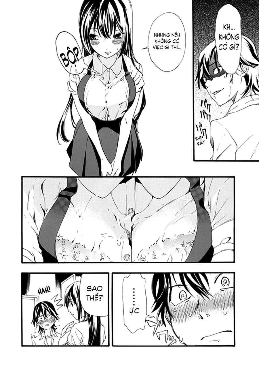 Toilet no Makiko-san chap 1 - Trang 31