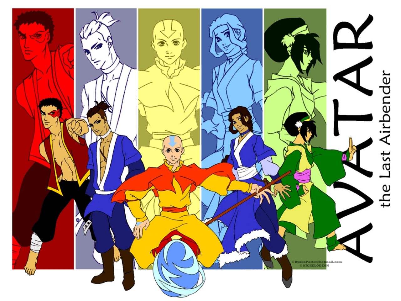 Download free avatar the last airbender hd desktop wallpapers,high