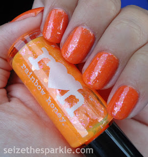 SinfulColors Feel The Vibe & Rainbow Honey Juicy Orange Pop