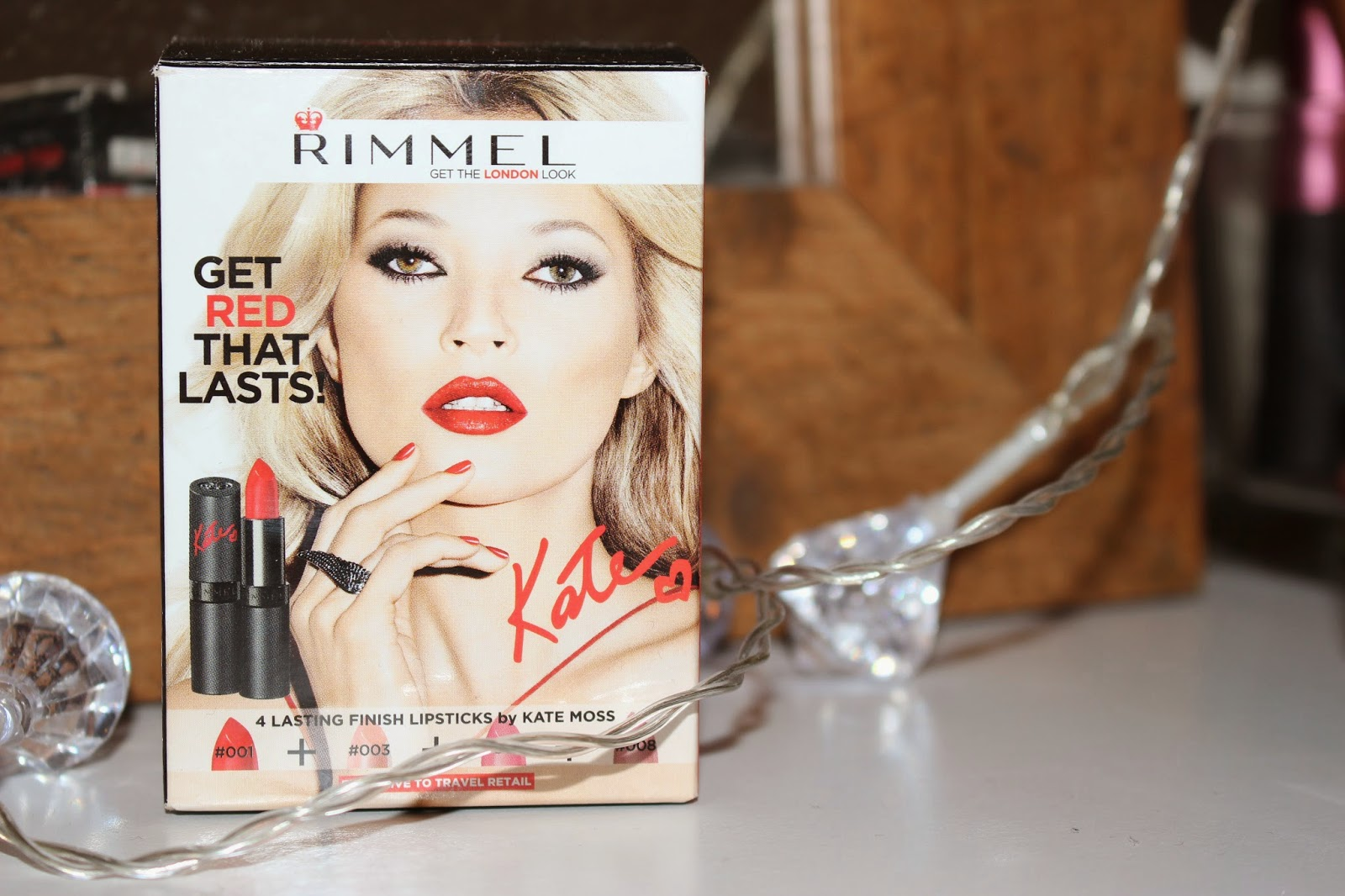 Kate Moss Lipstick Set