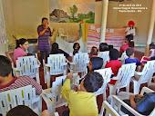 Trabalho com as crianças em Passa Quatro - MG