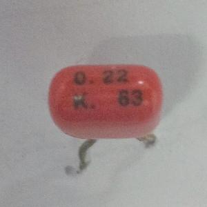 Kapasitor 0.22uF K