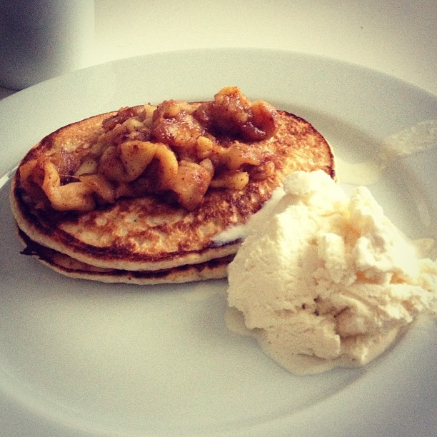 protein pancakes lchf