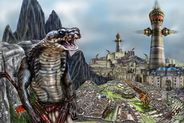 El mito Reptiliano - De los mitos hasta la Ciencia Ficción - Parte I