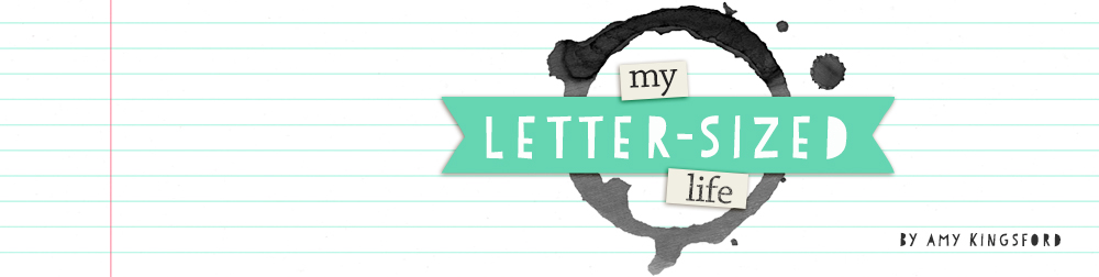 My Letter-Sized Life