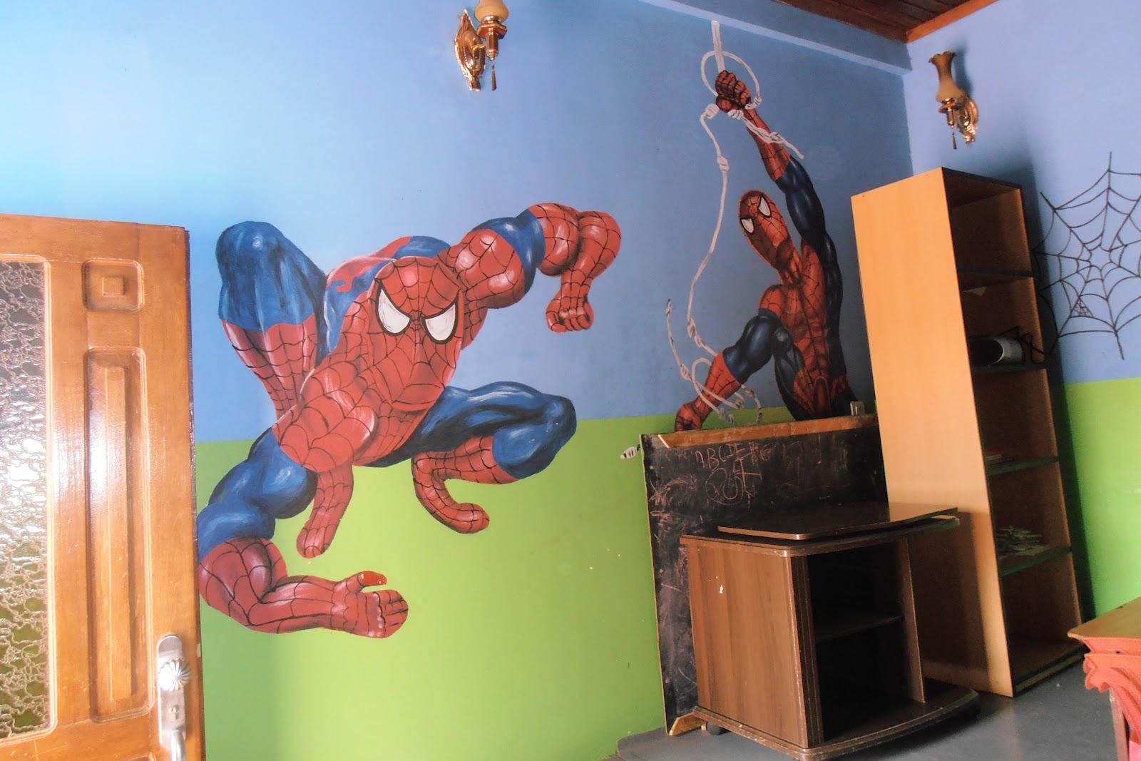 Spiderman room viewing gallery