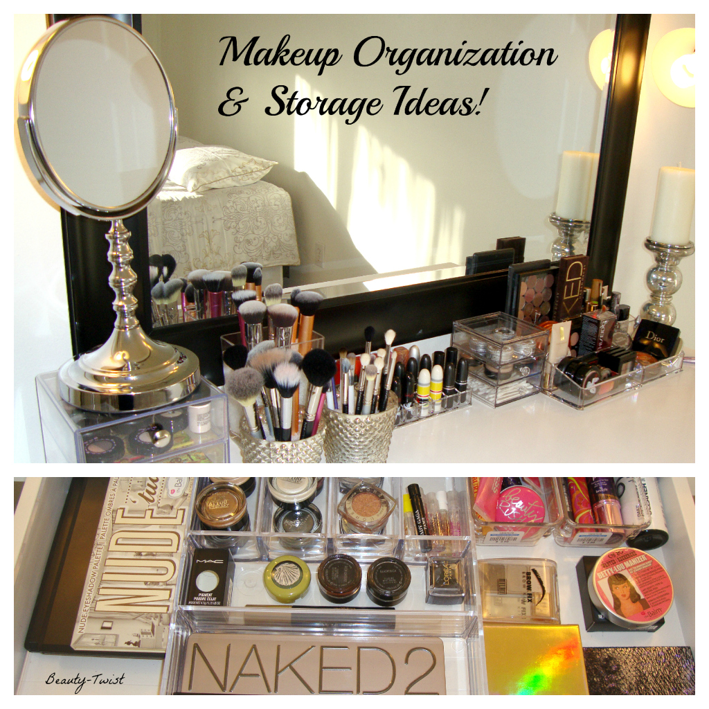 Diy makeup organizer ideas short hairstyle 2013 Makeup organizer ideas