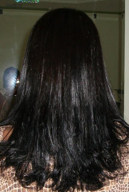 O cabelo ficou macio e maravilhoso!