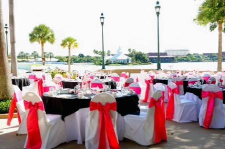 Disney Epcot Italy Pavilion Wedding Photography