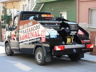 Desatascos con camión cuba en Sabadell