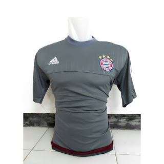 Jersey Bayern Munchen warna abu-abu terbaru musim 2015/2016 enkosa sport toko online terpercaya