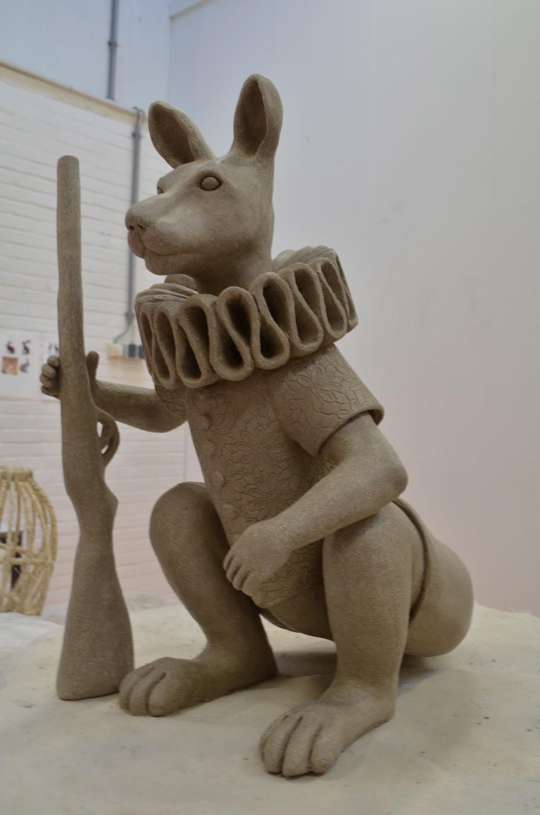 cool clay animal sculptures wwwpixsharkcom images