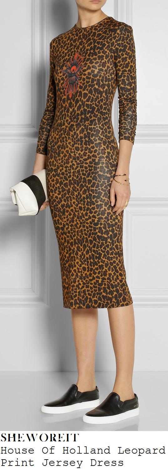 kimberley-walsh-leopard-print-long-sleeve-bodycon-jersey-midi-dress