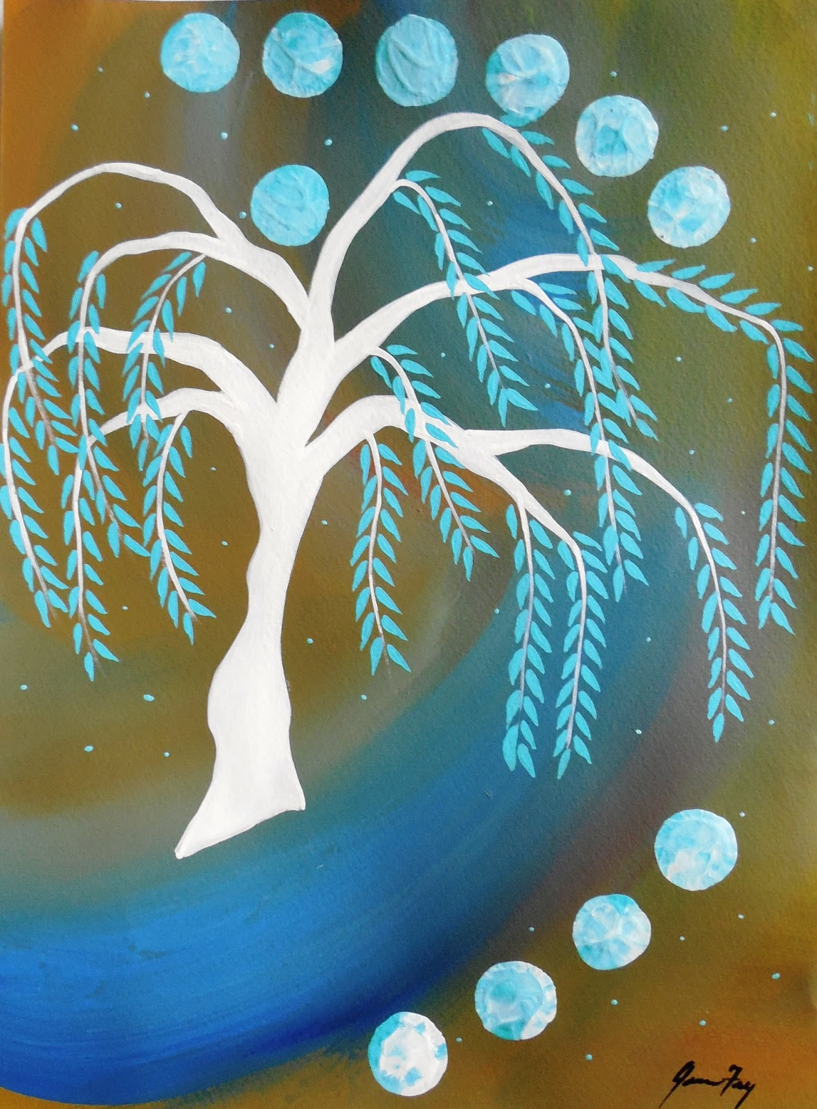 Conscious art studios willow tree moon and its symbolic meaning willow tree moon and its symbolic meaning biocorpaavc Image collections