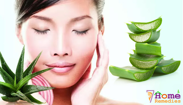 use Aloe oil to get rid of acne