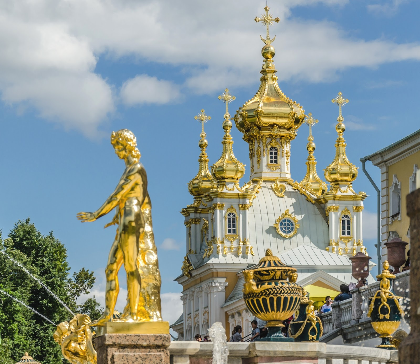 Russia: Travel & Adventures: Peterhof ( Petrodvorets, Петергоф