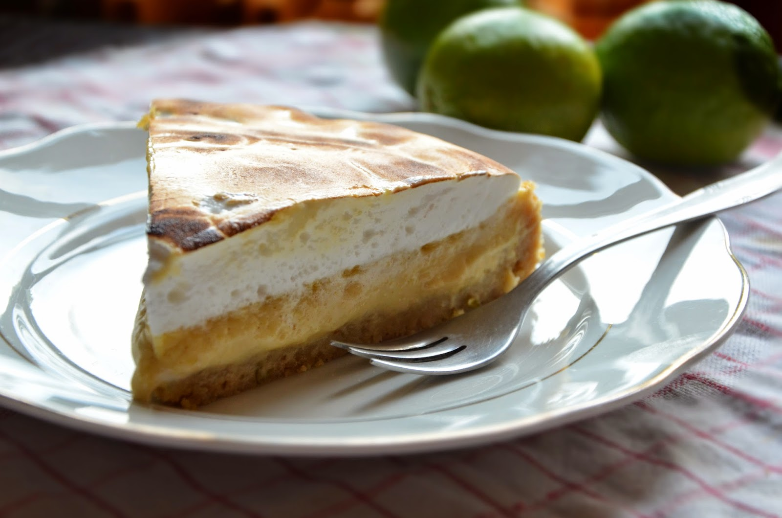 Tarta limonkowa Key Lime Pie