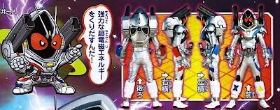 Kamen Rider Fourze Magnet States