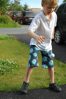 Meteor Shower Kid Shorts by Cicely Ingleside