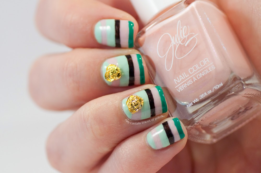 3d Roses Nail Art May Contain Traces Of Polish